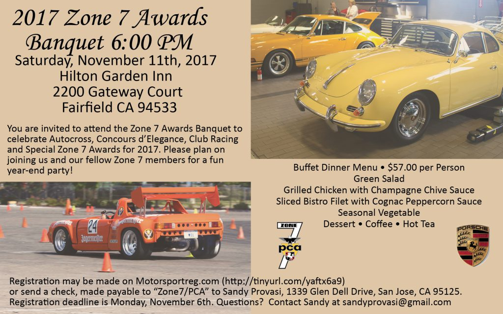 Zone 7 Annual Awards Banquet @ Hilton Garden Inn | Fairfield | California | United States
